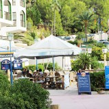 Urgemütlicher Biergarten in Paguera auf Mallorca zu übergeben