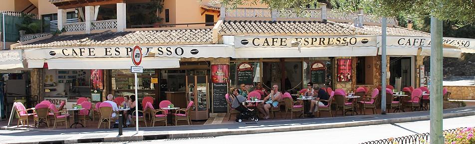 Langjährig gut etabliertes Café / Bistro mit Eiscafé in Toplage in Paguera, Mallorca
