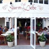 Café-Restaurant mit Meerblick am Bulevard in Paguera Mallorca nebst Einliegerwohnung zu verkaufen