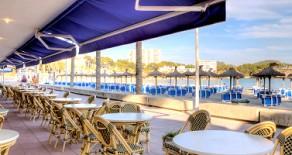 Hervorragend ausgelastetes Hotel in bester Strandlage von Paguera auf Mallorca zu verkaufen