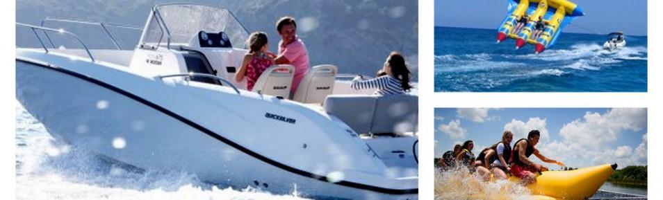 """Wassersport Projekt """"Bananenboot"""" auf Mallorca zu verkaufen"""