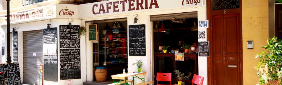 Cafe' & Pizzeria in Top Lage Palma