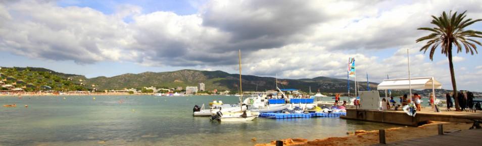 TOP! Im Südwesten Mallorcas direkt am Strand