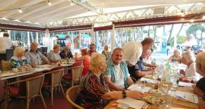 Restaurant Bar Cafeteria mit Einlieger- und Ferienwohnung direkt am Boulevard de Paguera zu übergeben
