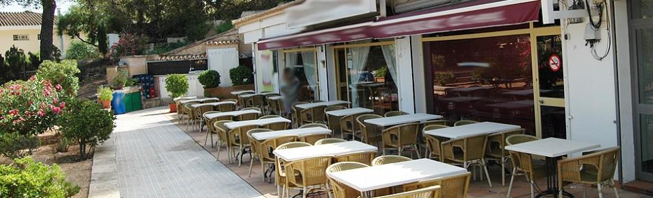 Restaurant in Santa Ponsa / Costa de la Calma mit großer Terrasse zu verpachten