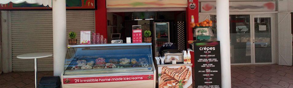 Eiscafé Take Away in Palmanova auf Mallorca in neue Hände zu geben