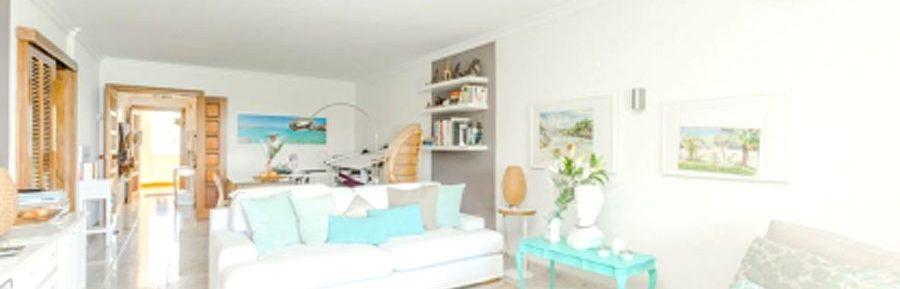 Appartement in Cala Vinyas, Südwesten von Mallorca, Meerblick, erste Linie, eigener Strandzugang